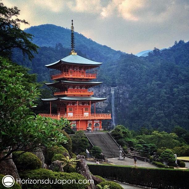 Une véritable carte postale du Japon
