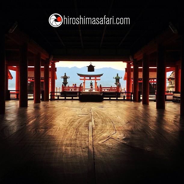 Itsukushima, le sanctuaire des Dieux…on sait pourquoi :)