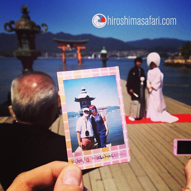 Des safaristes comblés par la découverte de «mon» Miyajima et du finish au sanctuaire d'Itsukushima.