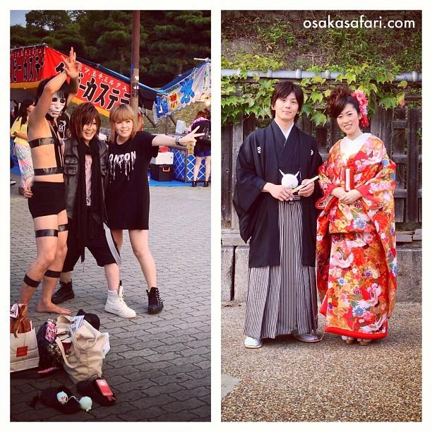 Quand il s'agit de prendre la pose, il y en a pour tous les goûts au Japon