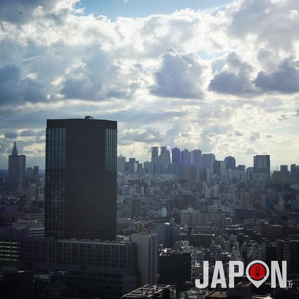 On dirait que quelque chose est en approche sur Tokyo…