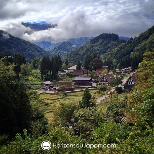 Village de la région de Gokayama