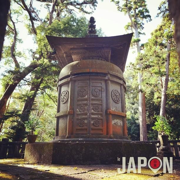 À Shizuoka se trouve la «vraie» tombe de Ieyasu Tokugawa ! Ici sont ses cendres, alors que Nikko a son âme !