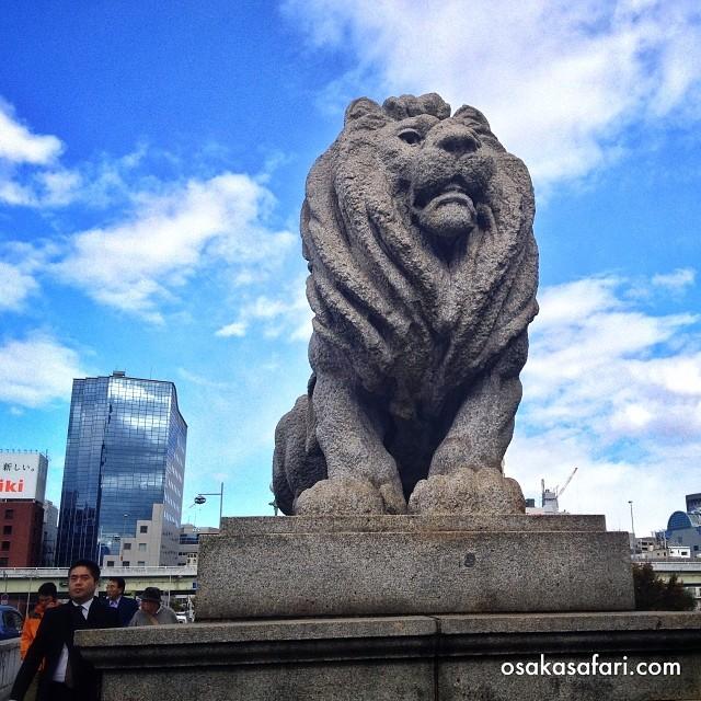 Le lion de Naniwa