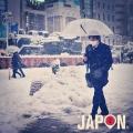 Tokyo sous la neige : Shimbashi