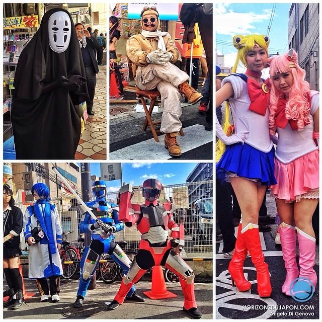 Porco Rosso, Sailor Moon & co au festival annuel de Cosplay de DenDen Town