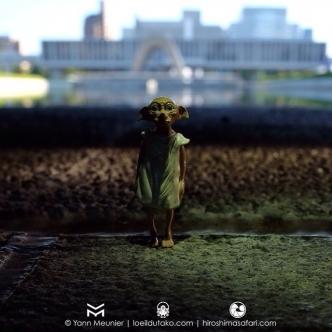 Dobby à Hiroshima.
