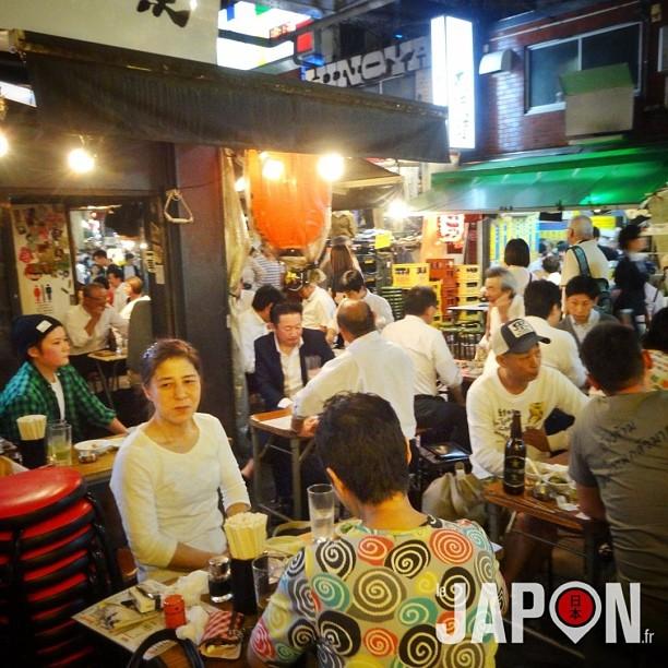 Le charme des terrasses de restaurants tokyoïtes ! #ameyoko #tokyosafari