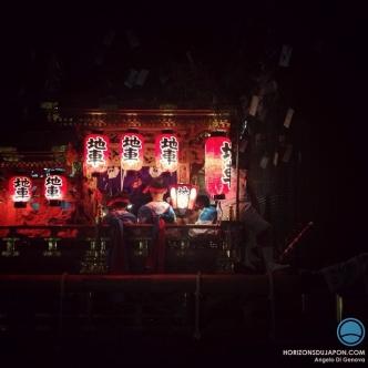 Matsuri dans la nuit noire