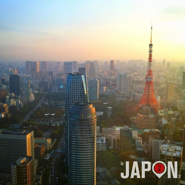 Nouvelle vue sympa sur la Tokyo Tower