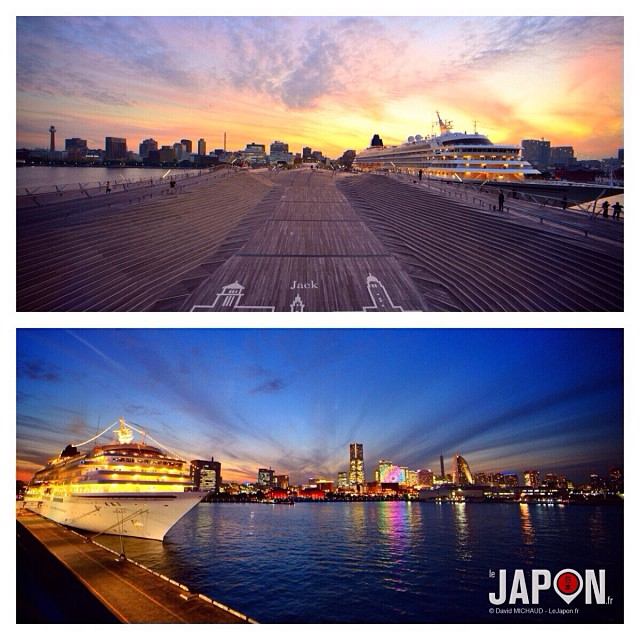 Yokohama a l'une des plus belle marina du Japon ! #YokohamaSafari