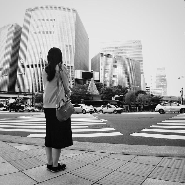 Tokyo Ginza Black & White