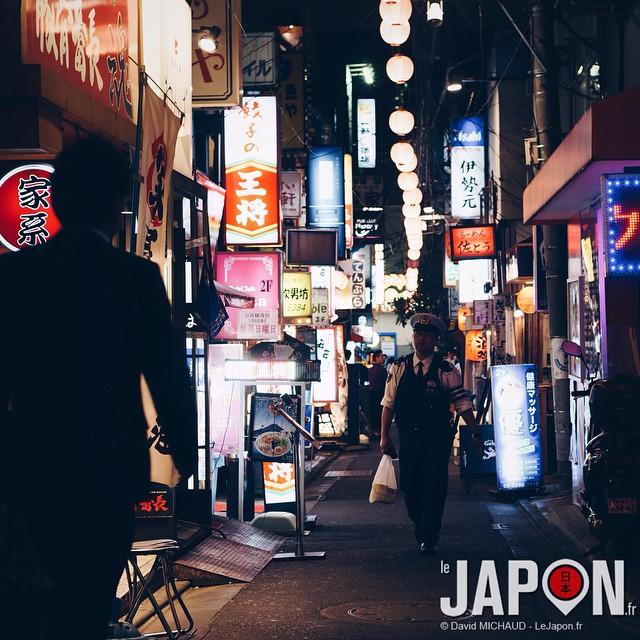 Tokyo by Night ! Avec @gazmasta & @tanukitsuneko ; )