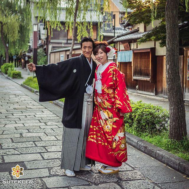 Ils sont pas beaux nos deux petits mariés ? :)