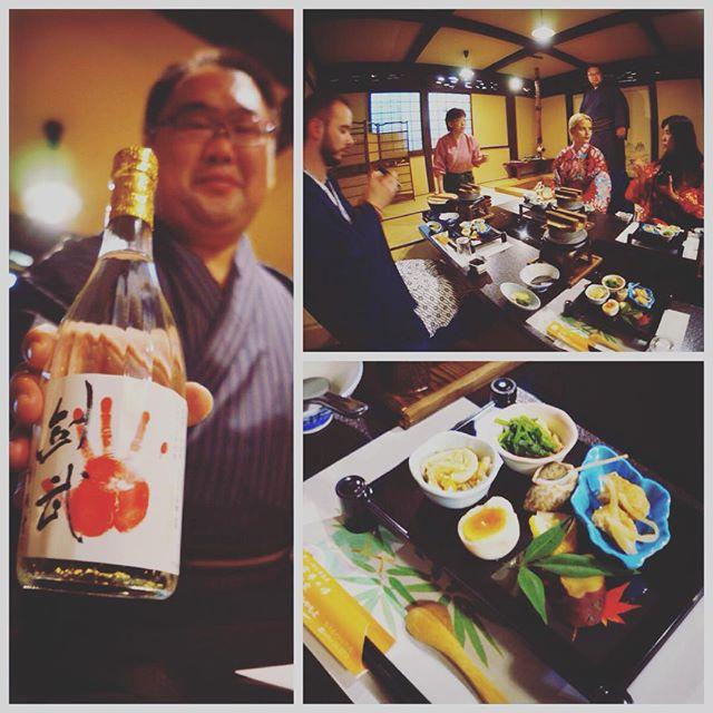 Miyamotoke (Ryokan à Chichibu tenu par un ancien sumo) a gagné le grand prix d'Omotenashi Award de Saitama. Bien mérité tellement le patron est adorable et sait gâter ses clients ! Le repas était délicieux et sans fin :D