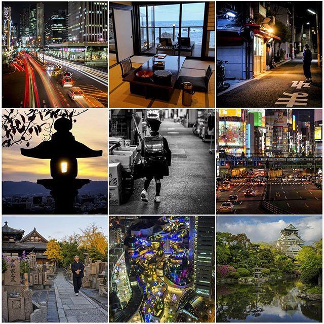 De retour au Japon après 3 semaines en France. J'en profite pour souhaiter une bonne année à tout le monde avec ce montage des photos les plus likées sur Instagram en 2015