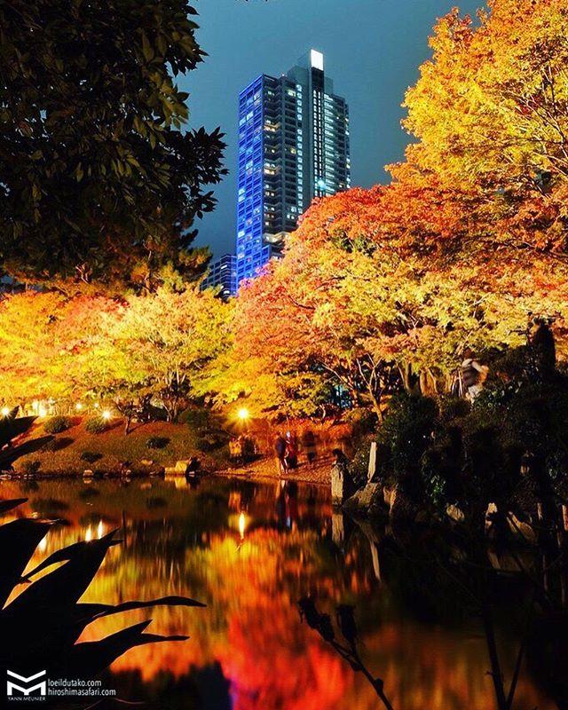 Light-up éphémère au Shukkeien.🍁🌙
