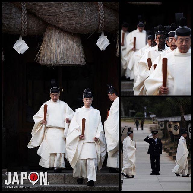 Hier c'était la fin du Kami Ari Zuki (le mois des dieux) au sanctuaire Izumo Taisha… #izumo #izumotaisha