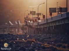 Ambiance apocalyptique en fin de journée #japon
