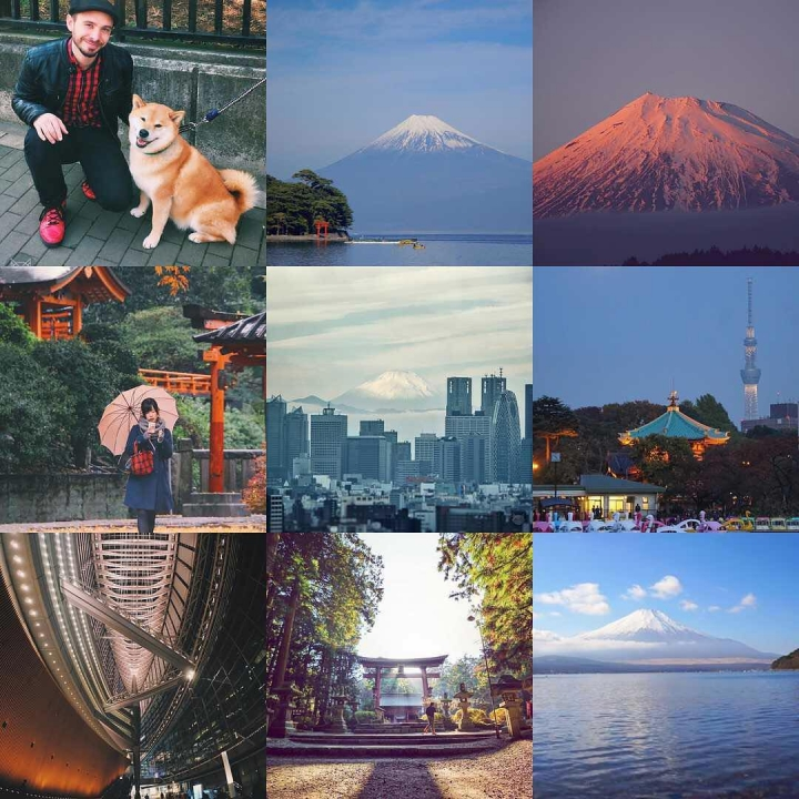 Best 9 of 2016!! First with @marutaro of course ;) and four times Fuji-san!! Thanks to everybody for following me all along this year and the years to come :) Happy New Year everybody!!