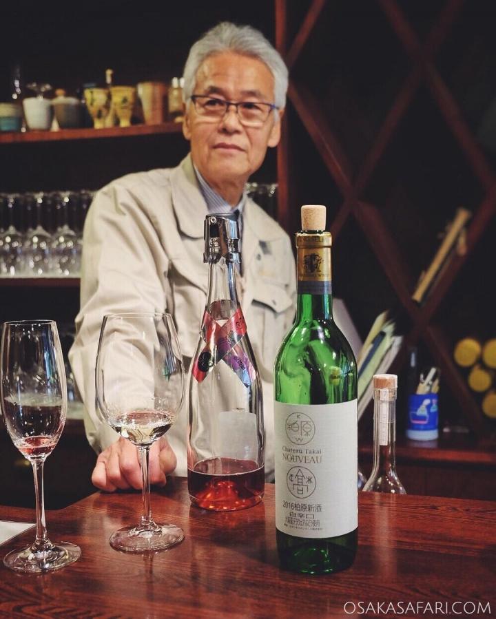 Osaka Safari du jour dans un vignoble du sud d'Osaka en compagnie de Takai-san, 4e génération de vigneron dont la passion est contagieuse. Une superbe expérience !  #osaka #osakawine #japanwine #vinjaponais #vin #柏原ワイン #カタシモワイナリー #大阪ワイン