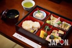 Repas bouddhiste végétarien dit Fucha, au temple Manpuku-ji dans la ville de Uji (Kyoto) #JapanHeritage