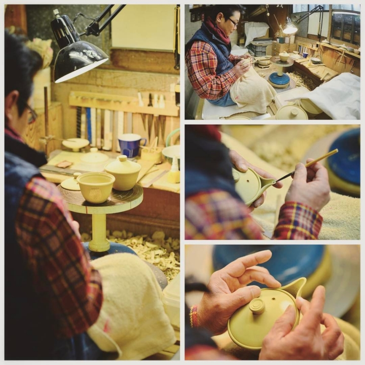 Voir un artisan de Takumi No Yakata à Uji fabriquer une théière Kyusu 🍃🍵 #JapanHeritage #Uji #Kyoto