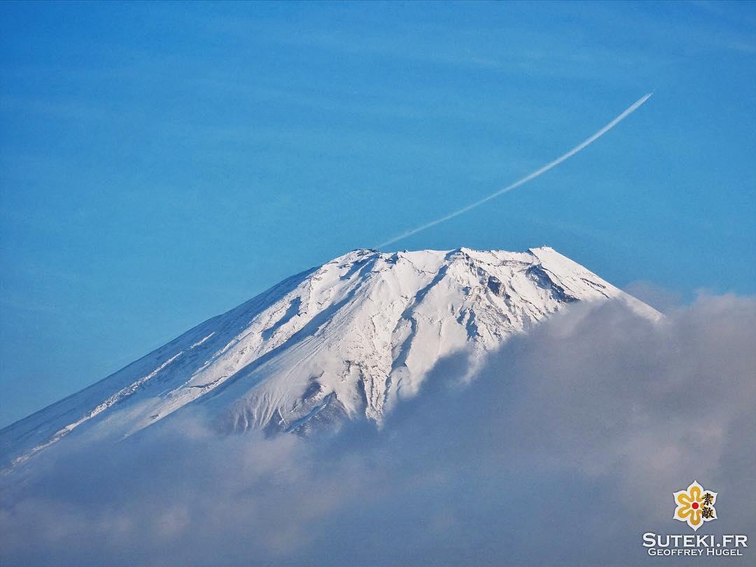 En vue des JO 2020, le gouvernement japonais expérimente les vols pour l'espace en utilisant le Mont Fuji comme rampe de lancement #japon