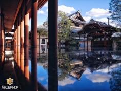 Tout est dans la réflection #japon #kyoto