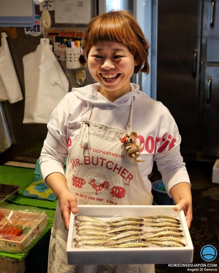 À Osaka les poissonniers ont de l'humour :) #osakasafari #japonsafari