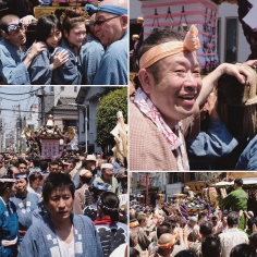 C'était le Sanja Matsuri ce week-end à Asakusa ! Encore une bonne ambiance 😉 #Asakusa #Tokyo #TokyoSafari #Japon