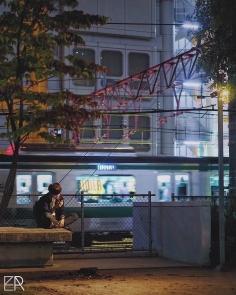 Les contre-allées de Shibuya