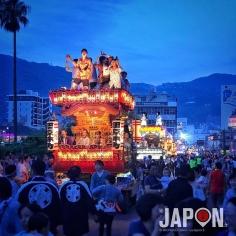Le Atami Kogashi Matsuri ! Beaucoup plus fun que la plupart des Matsuri 😉 #Atami #Matsuri