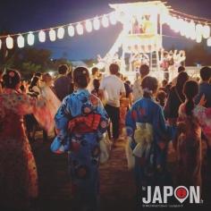 L'été au Japon c'est la fête tous les soirs en yukata dans les petits quartiers 😉