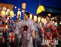 Bon Odori au temple Tsukiji Honganji 😍 #Tsukiji #BonOdori #Honganji #TokyoSafari #Tokyo #Japon