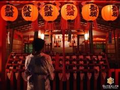 Prières nocturnes #japon #kyoto