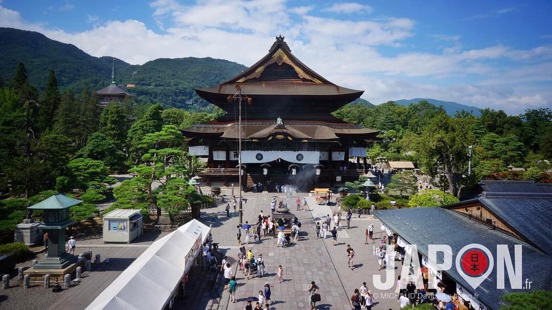 Nagano Zenko-ji temple 😶#Nagano #zenkoji