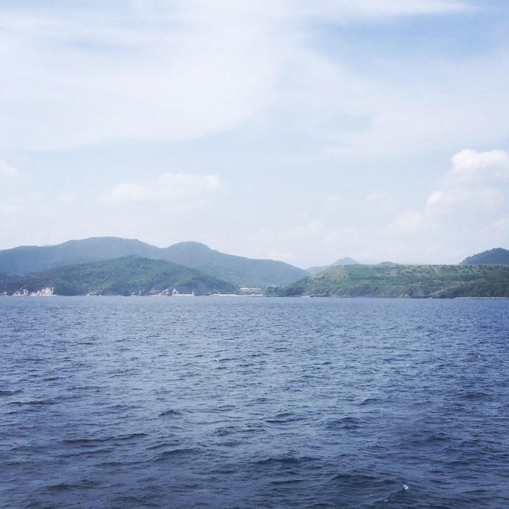 Byebye Okinoshima en Hydrofoil ! 🚤💨 #SaninAdventure