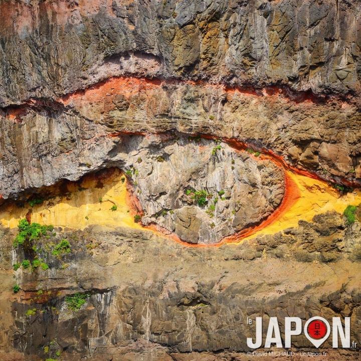 L'œil de Nishinoshima 😱👁🌋 #SaninAdventure #Nishinoshima