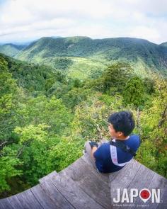 La superbe vue à mi-chemin ! 😍Nageiri-do 👍🏻 #SaninAdventure #nageirido #sanbutsuji