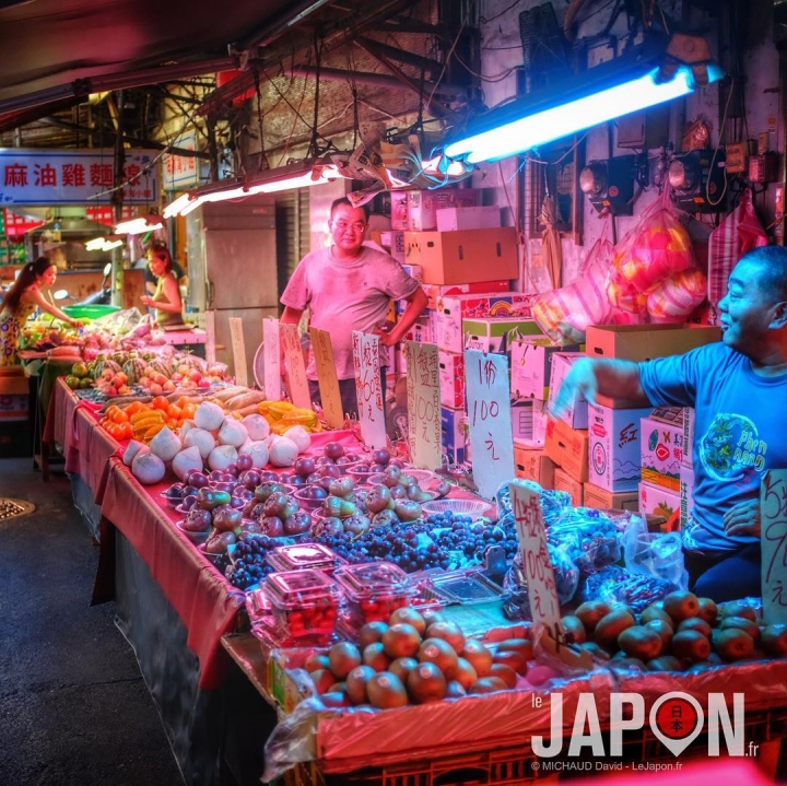 Les petits marchés colorés de Taïpei ! 🌈😙 #Taïwan #Taïpei #TeamJaponSafari #TaïwanSafari