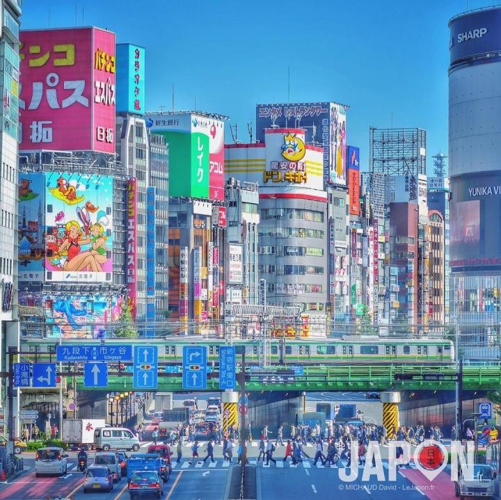 Tokyo enfin sous le soleil ! Le spot photo de Shinjuku 😉☀️ #Shinjuku #Tokyo #TokyoSafari