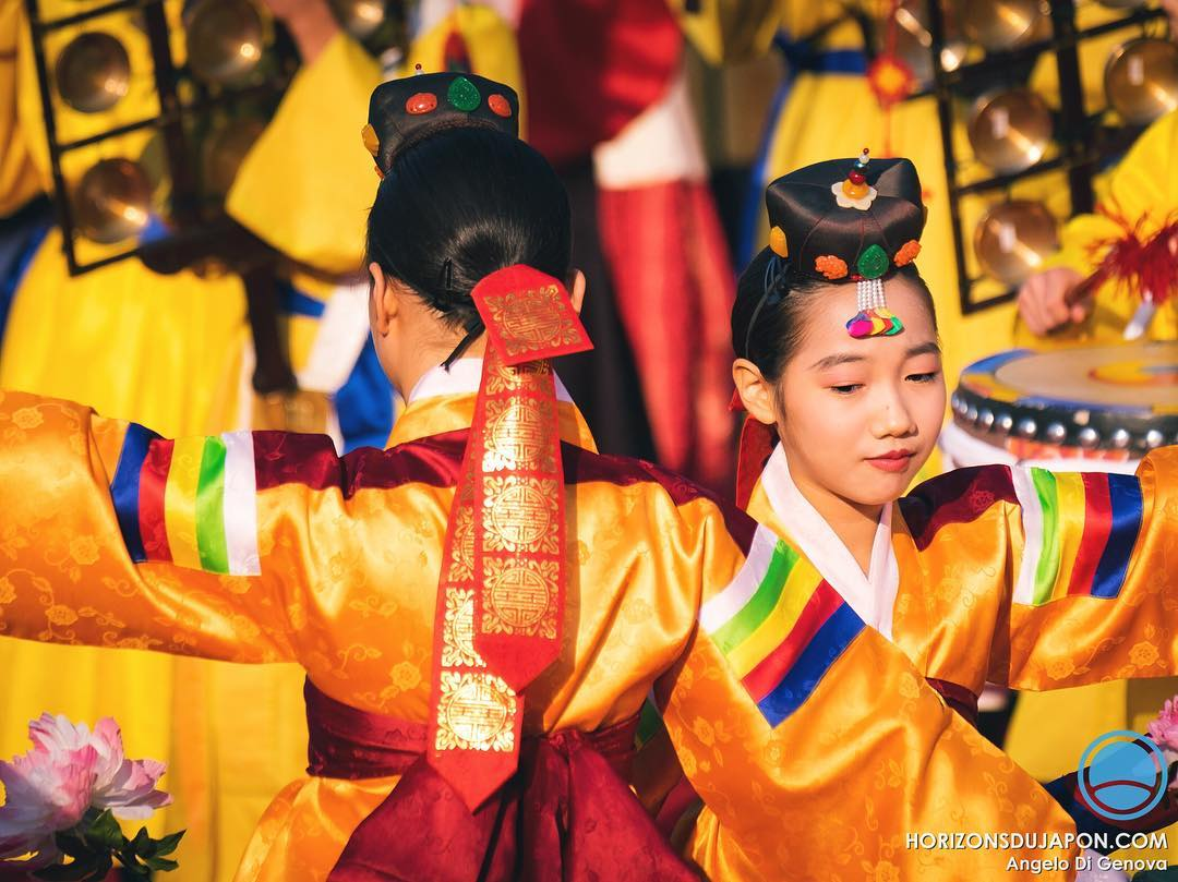 Hier on commémorait les presque 1500 ans d'échanges culturels entre Osaka et le reste de l'Asie.  #japonsafari #osakasafari