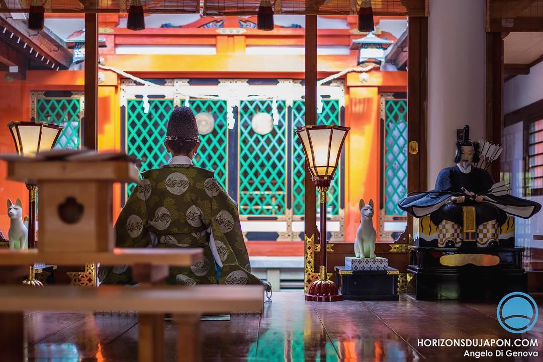 C'est quand on assiste à certaines cérémonies Shinto que l'on peut ressentir un peu l'influence du chamanisme au Japon
