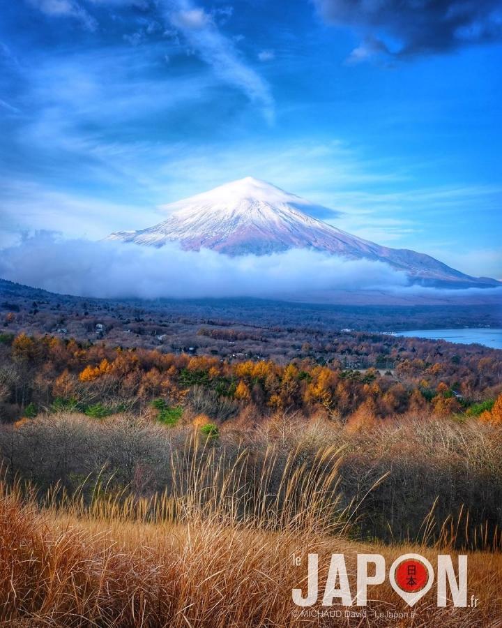 Petite vue sympa sur le Fuji san ce matin ! 🗻👌🏻😗 Merci @3776d pour le spot et le réveil à 5h du matin 😭 #Fuji #fujifilmx100f #Japon