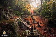 L'atmosphère parfaite pour un cimetière #japon #kyoto