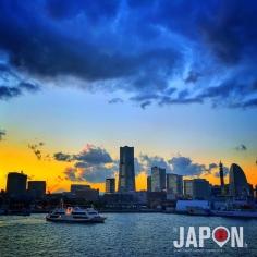 Yokohama ce soir en #UltraColor 😄🏙 #Yokohama #Japan #Japon