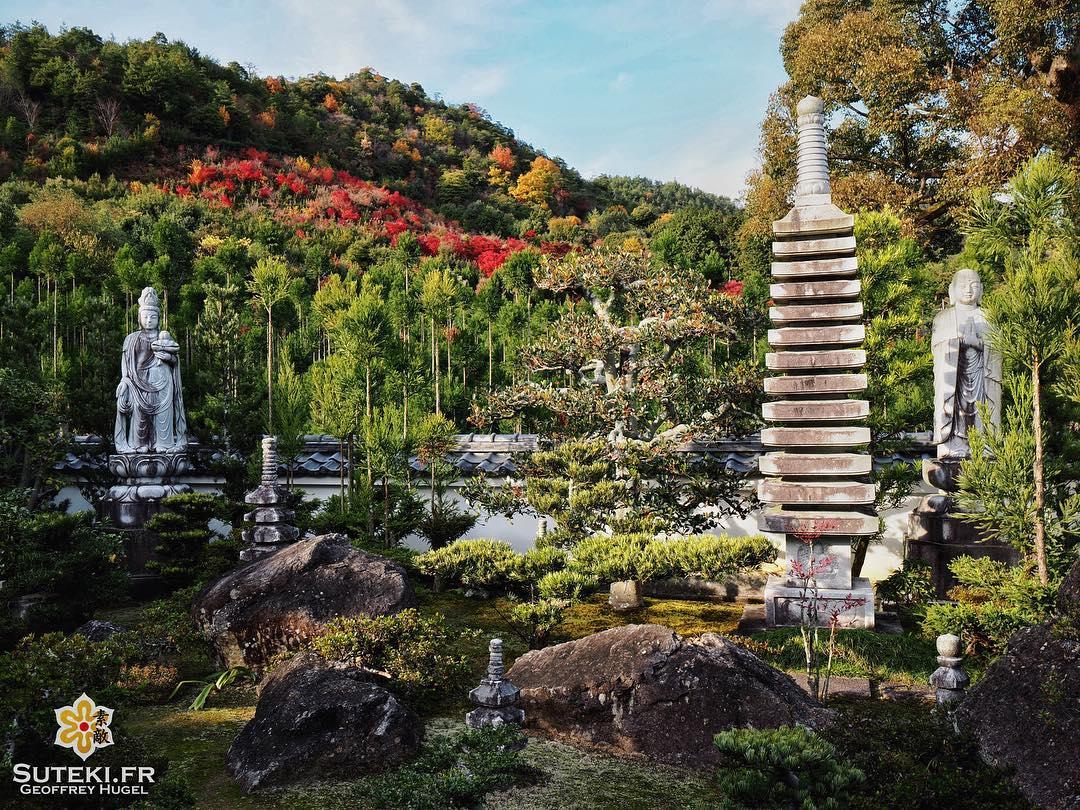 La petite touche de couleurs qui fait la différence #japon #kyoto