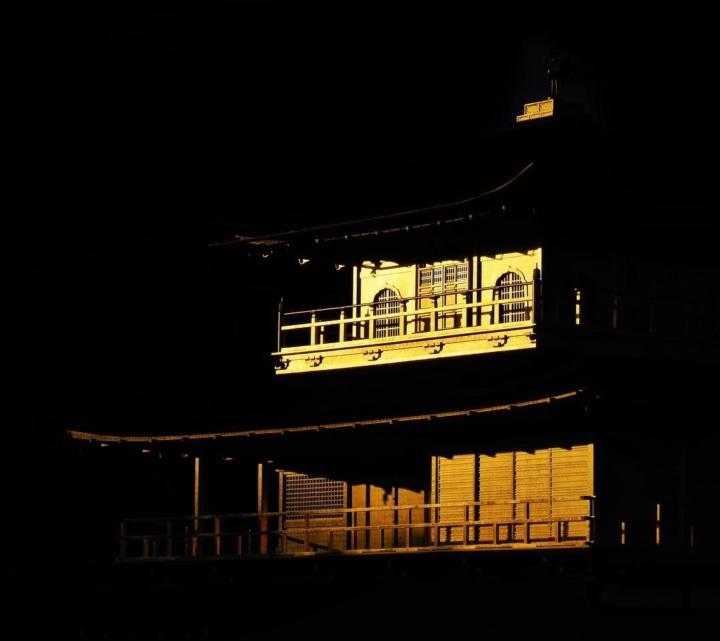 Le Pavillon d'or comme vous ne l'avez jamais vu…