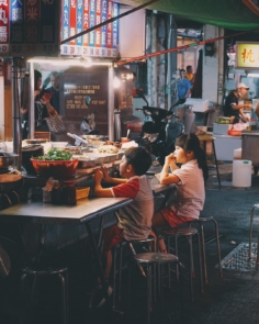 Taipei Night Market – Nouveau Post Photograhie sur mon premier voyage à Taïwan, à voir sur www.tanukitsuneko.com